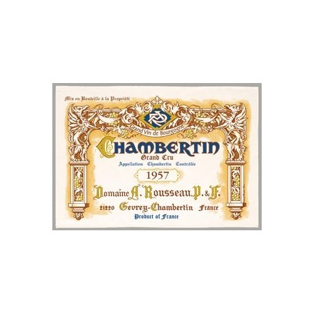Tissu Imprimé  Chambertin Grand Cru  - Coton - 48 x 72 cm