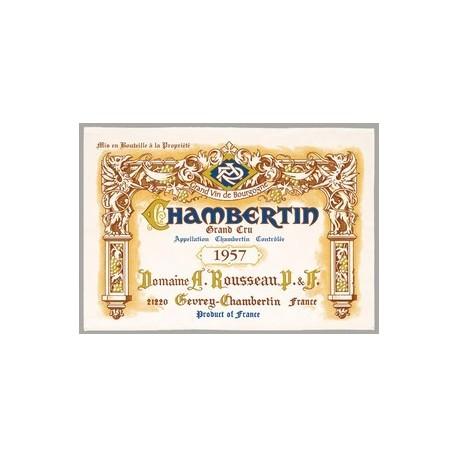 """Tissu Imprimé """" Chambertin Grand Cru """" - Coton - 48 x 72 cm"""