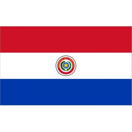 Drapeau Paraguay - tissu - 90 x 150cm