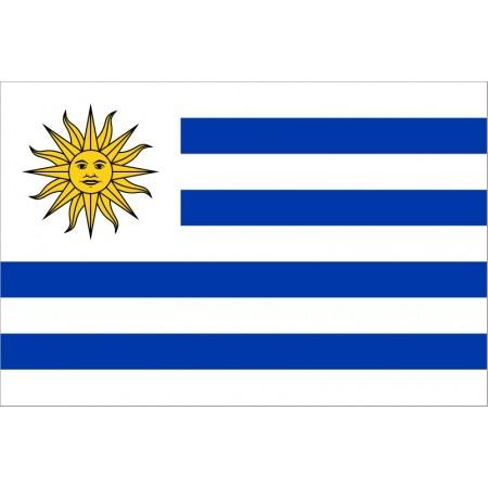 Drapeau Uruguay - tissu - 90 x 150cm