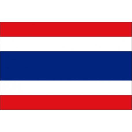 Drapeau Thailande - tissu - 90 x 150 cm