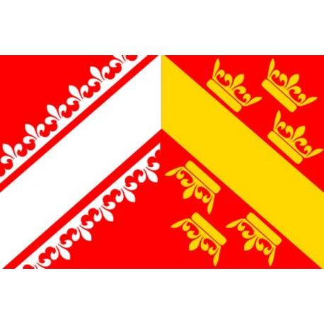 Drapeau armoiries Alsace - tissu - 90 x 150cm