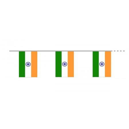 Guirlande Inde drapeaux 500 cm