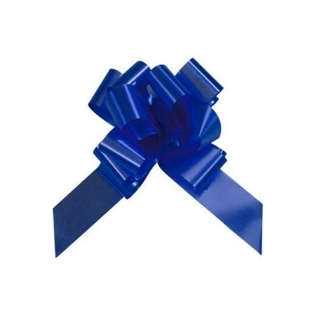 noeuds bleu roi x 20 - polypro - 25 x 25 cm