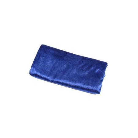 Tissu Velvet Bleu  - Coupe de 300 x 140 cm