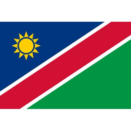 Drapeau Namibie  60 x 90 cm  - tissu