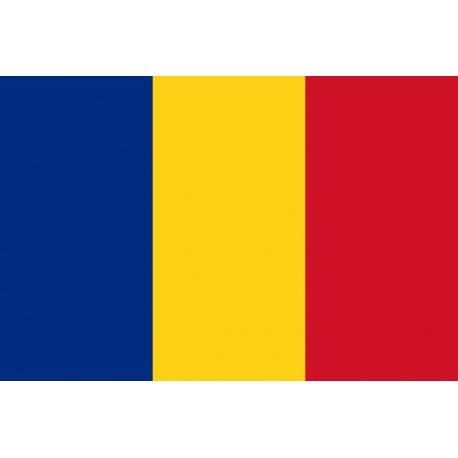 Drapeau Roumanie 60 x 90 cm  - tissu