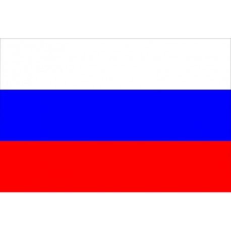 Drapeau Russie 60 x 90 cm  - tissu