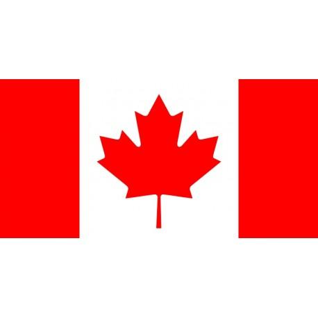 Drapeau Canada 60 x 90 cm  - tissu