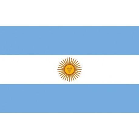 Drapeau Argentine 60 x 90 cm - tissu