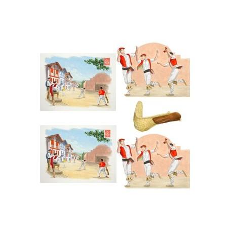 Set de 5 décors Sud Ouest - carton