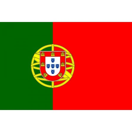 Drapeau Portugal - tissu - 60 X 90 cm