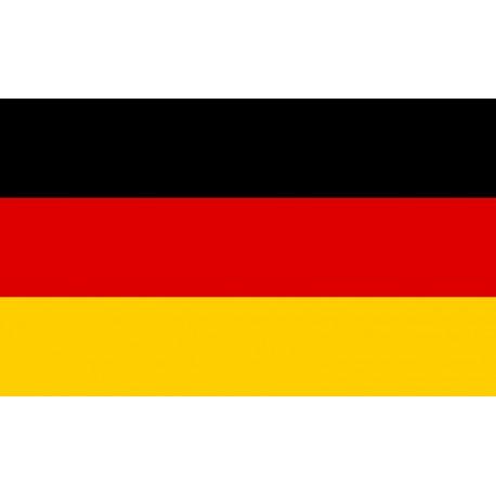 Drapeau Allemagne  - tissu - 60 x 90 cm