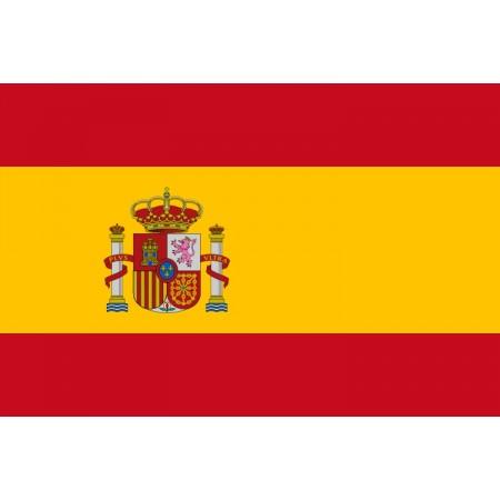 Drapeau Espagne - tissu - 60 x 90 cm