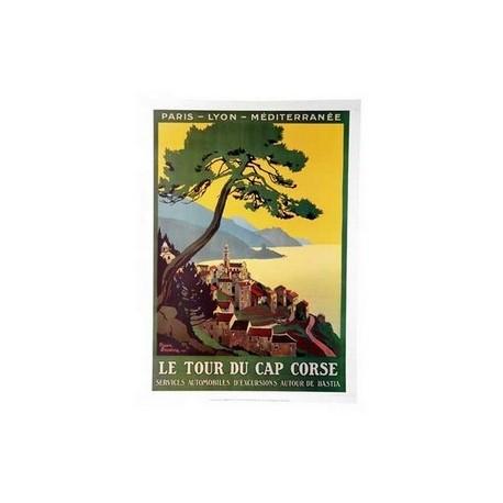 "Affiche "" Cap Corse "" 50 x 70 cm"