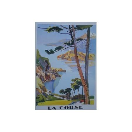 Affiche Corse  - papier - 50 x 70 cm