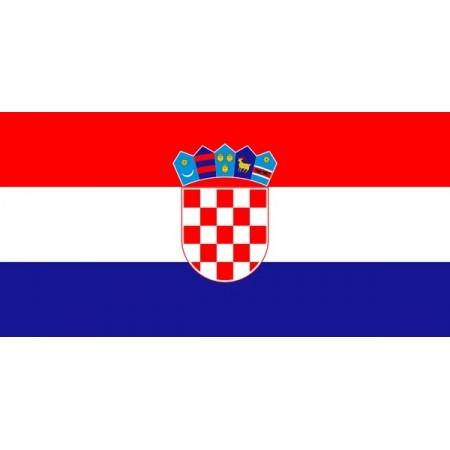 Drapeau Croatie - tissu - 60 X 90 cm