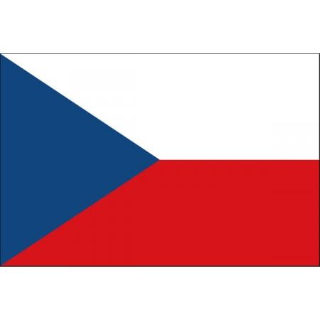 Drapeau Tchèque - tissu - 60 X 90 cm