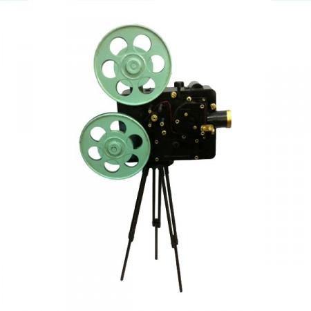Camera en metal - 38 cm