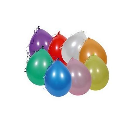 Ballons x 12- assortis multicolores -  Diam. 30cm