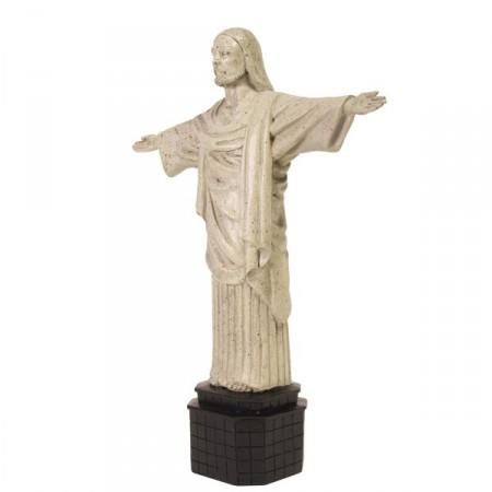 Christ rédempteur - Figurine H. 36 cm L. 30 cm - Résine