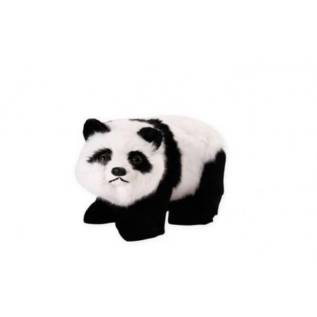 Panda - poils - 40 x 23cm