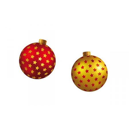 Boules de Noel - carton RV - D. 30 cm