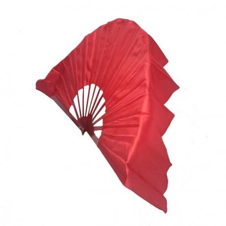 Eventail flamenco avec support - Tissu - diam 75 cm