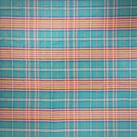 Tissu exotique Bleu - synthétique - coupe de 2m - Larg 160 cm