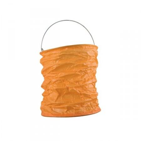 Lampion déco orange mandarine diam: 15 cm
