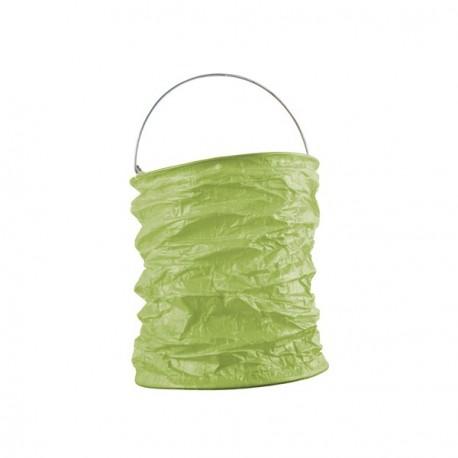 Lampion déco vert anis  diam: 15 cm