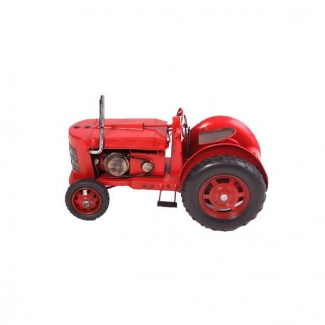 Tracteur en métal 35 x 18 x 22 cm
