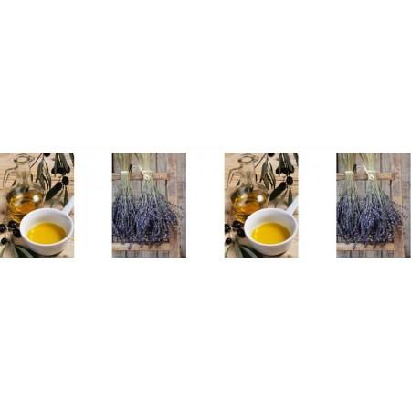 Guirlande Provence Visuels - 10 fanions de 30 x 21 cm -  papier - Long. 420 cm