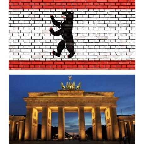 Mobiles Allemagne x 2 - carton - 27 x 49 cm
