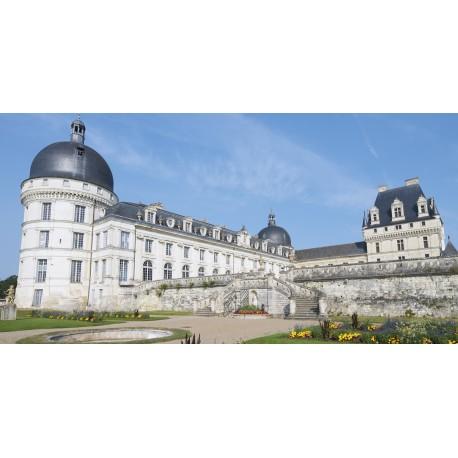 Panoramique Château de VALENCAY - PVC - 60 x 30 cm