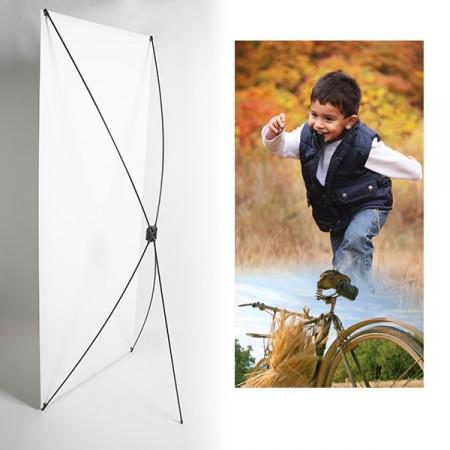 Kakemono enfant automne - 180 x 80 cm - Toile M1 avec structure  X- Banner
