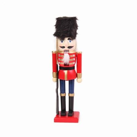 Soldat de la garde royale anglaise - Bois - Haut : 38cm