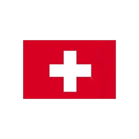 Drapeau Suisse - tissu - 60 X 90 cm