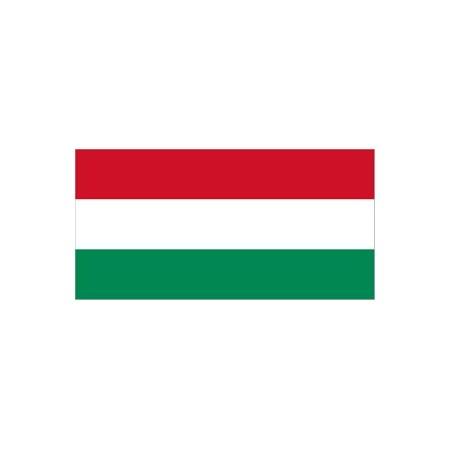 Drapeau Hongrie - tissu - 60 X 90  cm