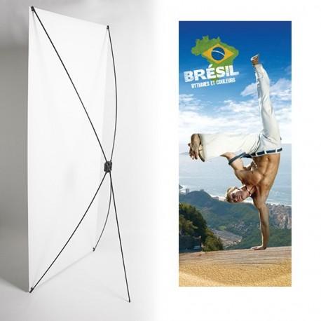 Kakémono 80 x 180 - Toile M1 / X Banner - Capoeira