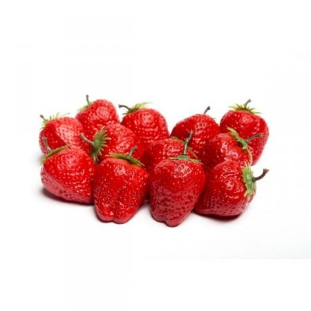 Sachet de 12 grosses fraises diam: 5 cm