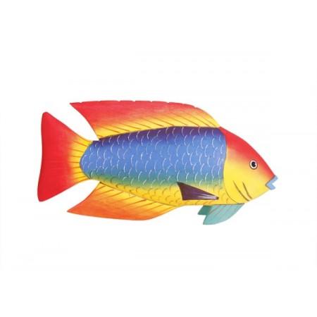 Poisson  - balsa - haut : 30 cm