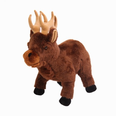 Peluche cerf marron *Haut 45 cm / Long 35 cm
