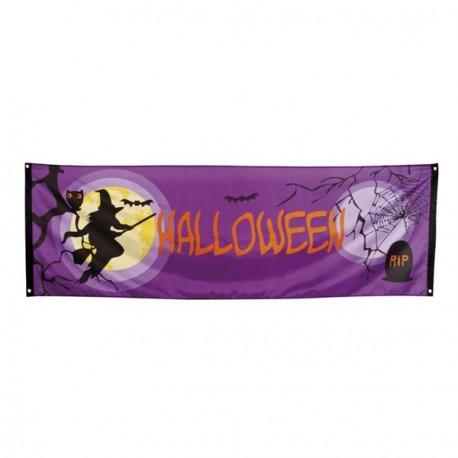 Banniere Halloween 74 x 220 cm - tissu