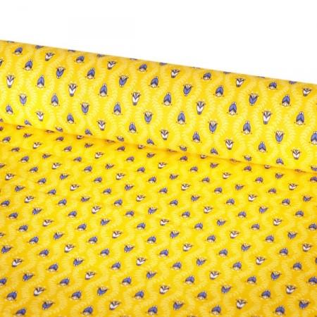 Tissu Provence - Larg. 160cm - coton  (vendu au mètre)