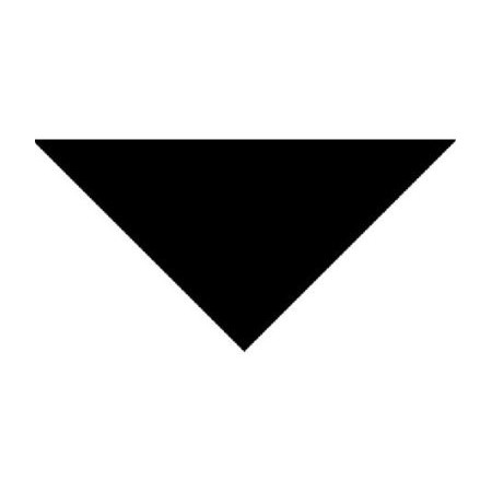 Bandana noir - tissu - 57 x 57 x 83cm