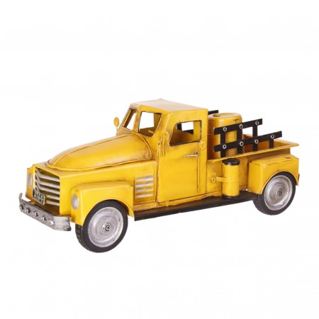 Pick-up jaune - Métal - 36 x 14cm