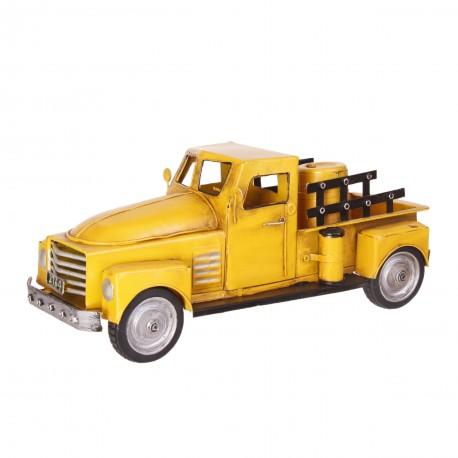 Pick-up jaune - Métal - 36 x 14cm