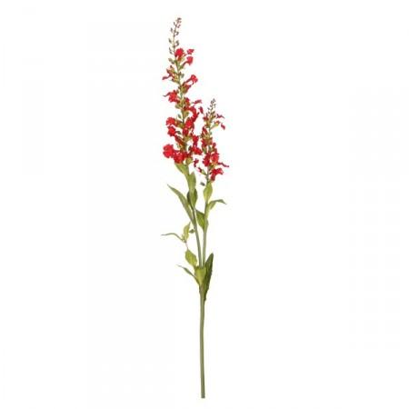 Branche de fleurs artificielles rouges - 61 cm (fleurs sur 40 cm)