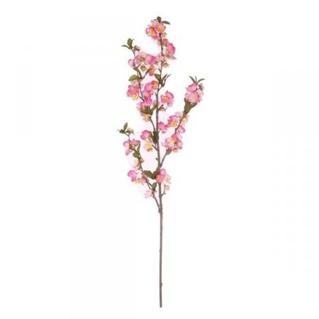 Branche de pommier - Long. 95 cm (fleurs artificielles sur 50cm)